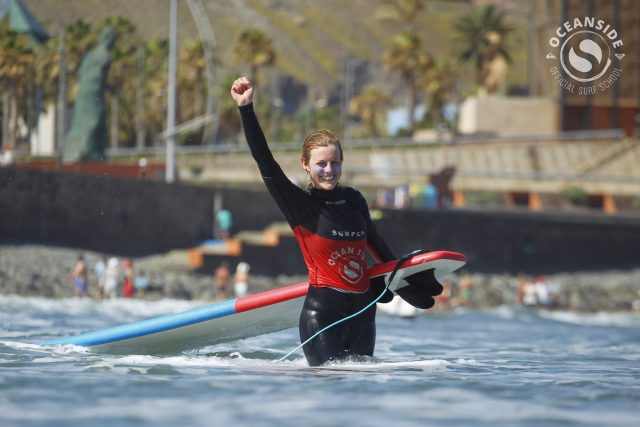 Spring surfing in Gran Canaria