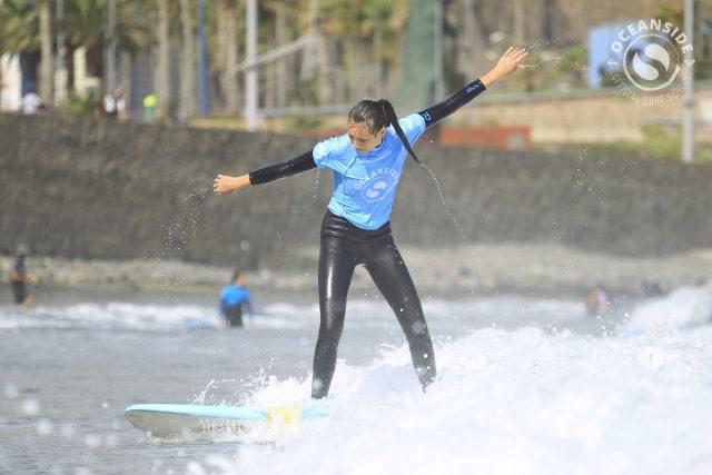 Summer Surf Camp in Las Canteras Beach